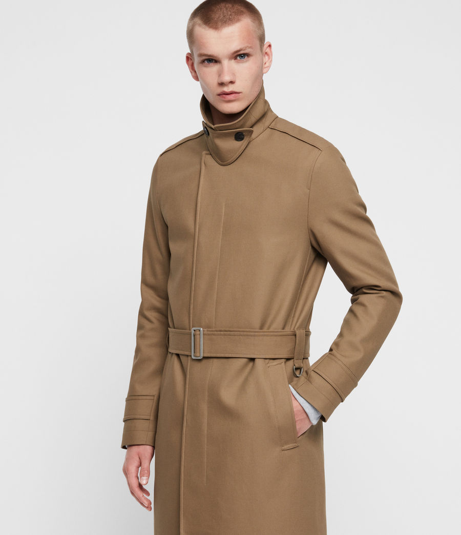 Hommes Trench Apsley (sand_brown) - Image 4