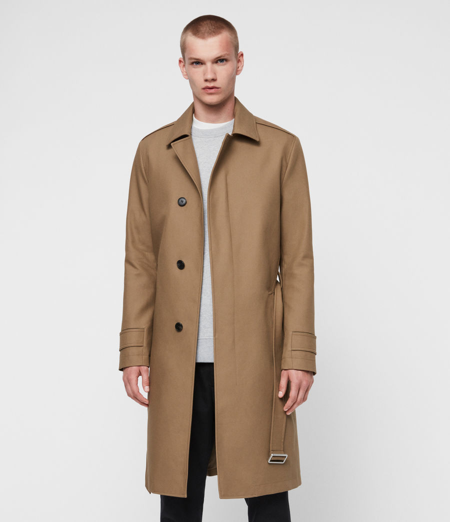 Hommes Trench Apsley (sand_brown) - Image 5