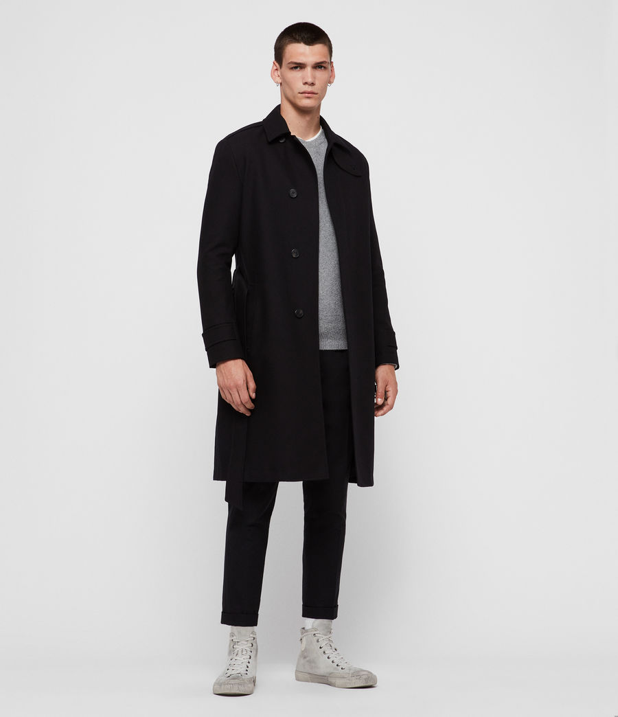 Uomo Trench Apsley (black) - Image 1