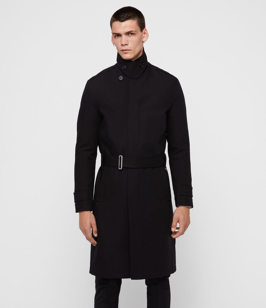Uomo Trench Apsley (black) - Image 2