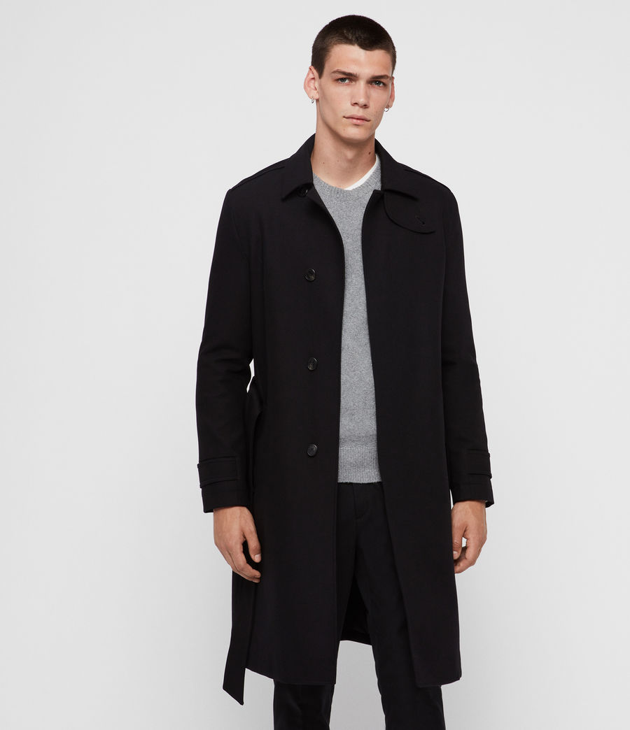 Uomo Trench Apsley (black) - Image 4