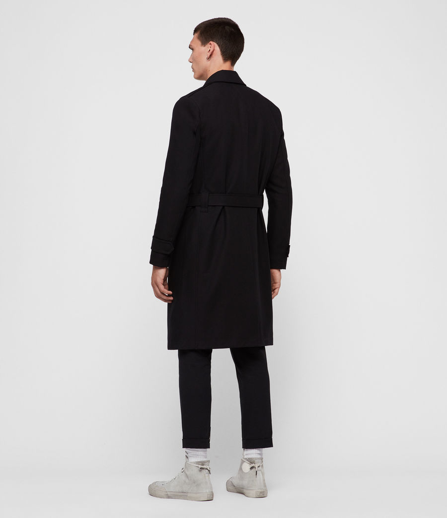 Uomo Trench Apsley (black) - Image 5