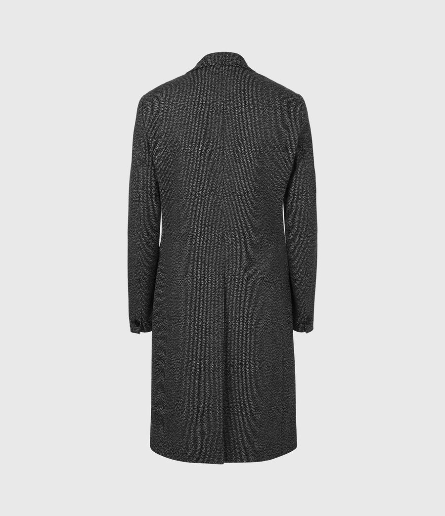 Men's Baiden Wool Blend Coat (black_white) - Image 3