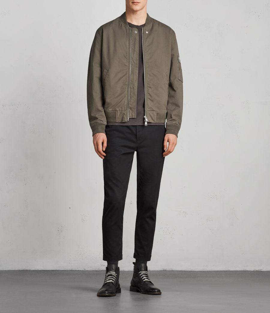 Men's Satta Bomber Jacket (dusty_olive) - Image 3