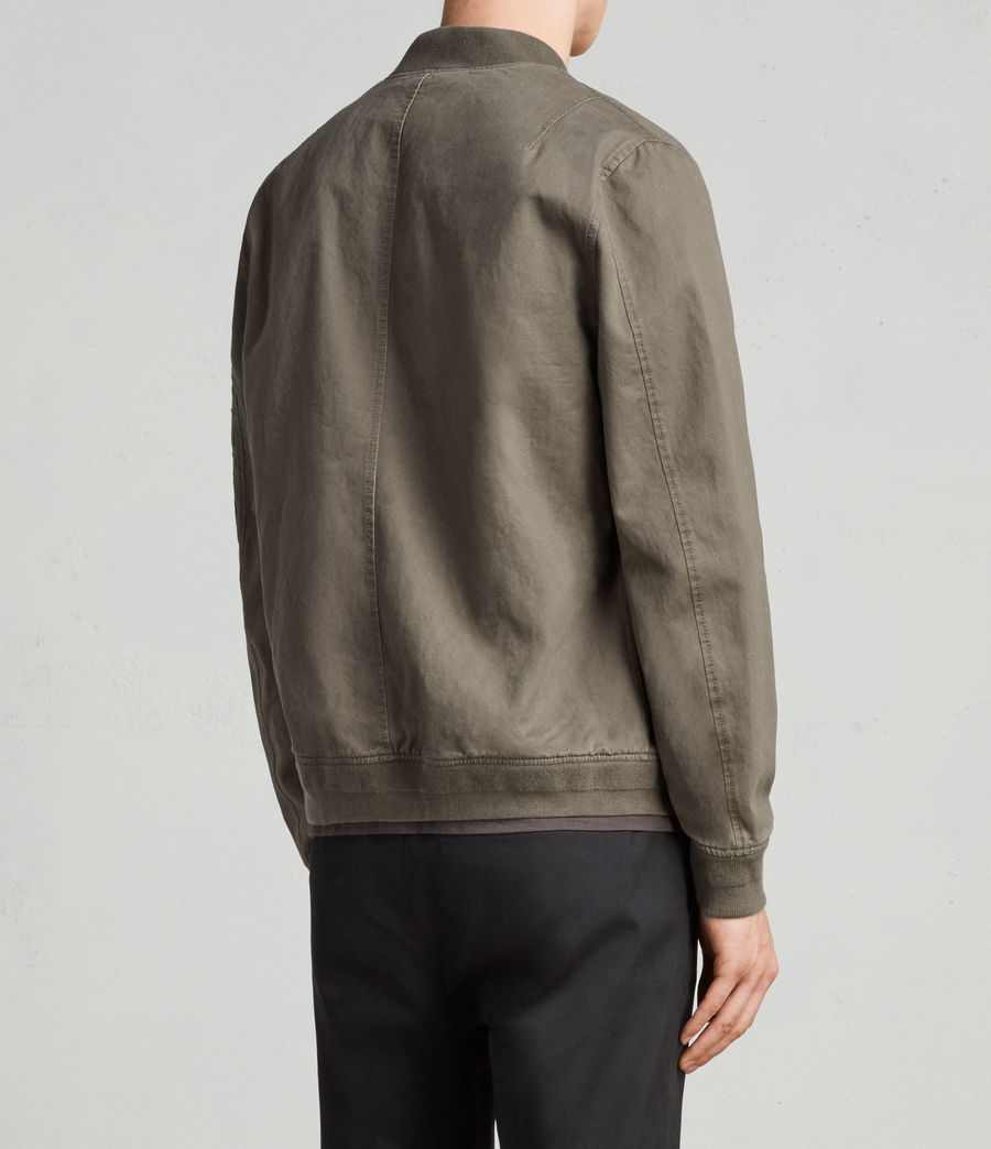Men's Satta Bomber Jacket (dusty_olive) - Image 6