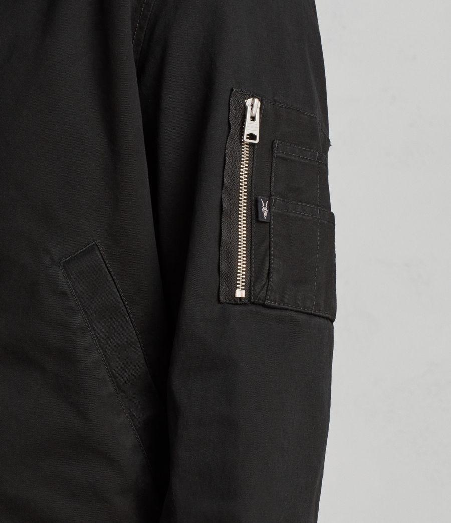 Men's Satta Bomber Jacket (jet_black) - Image 4