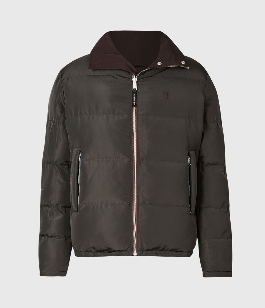 Herren Novern Reversible Ramskull Puffer Jacket (oxblood_grey) - Image 2