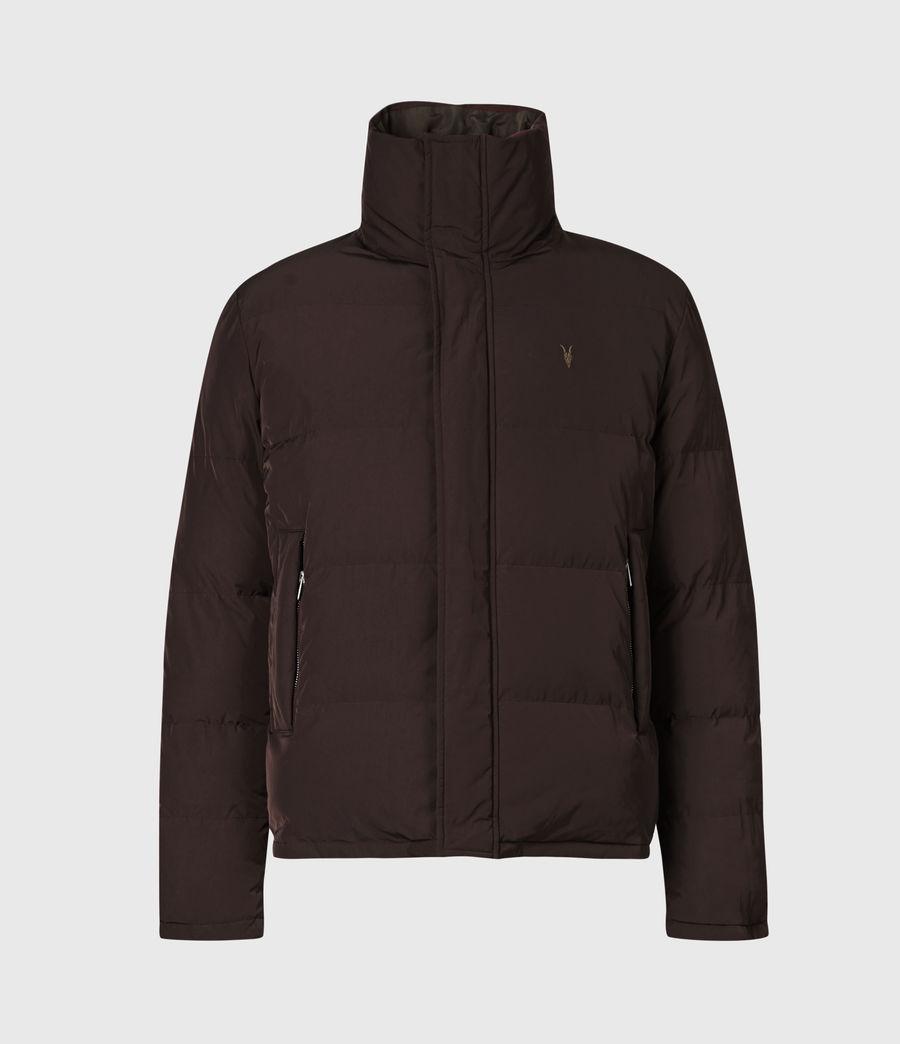 Herren Novern Reversible Ramskull Puffer Jacket (oxblood_grey) - Image 3