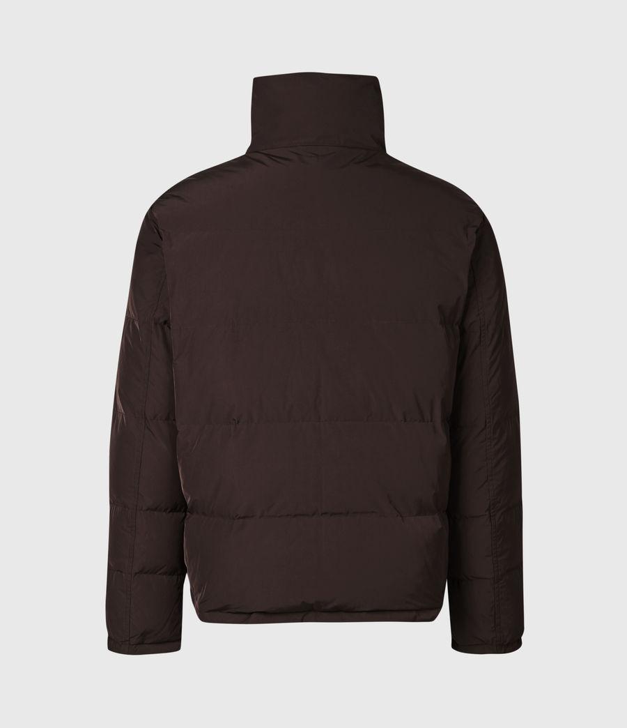 Herren Novern Reversible Ramskull Puffer Jacket (oxblood_grey) - Image 4