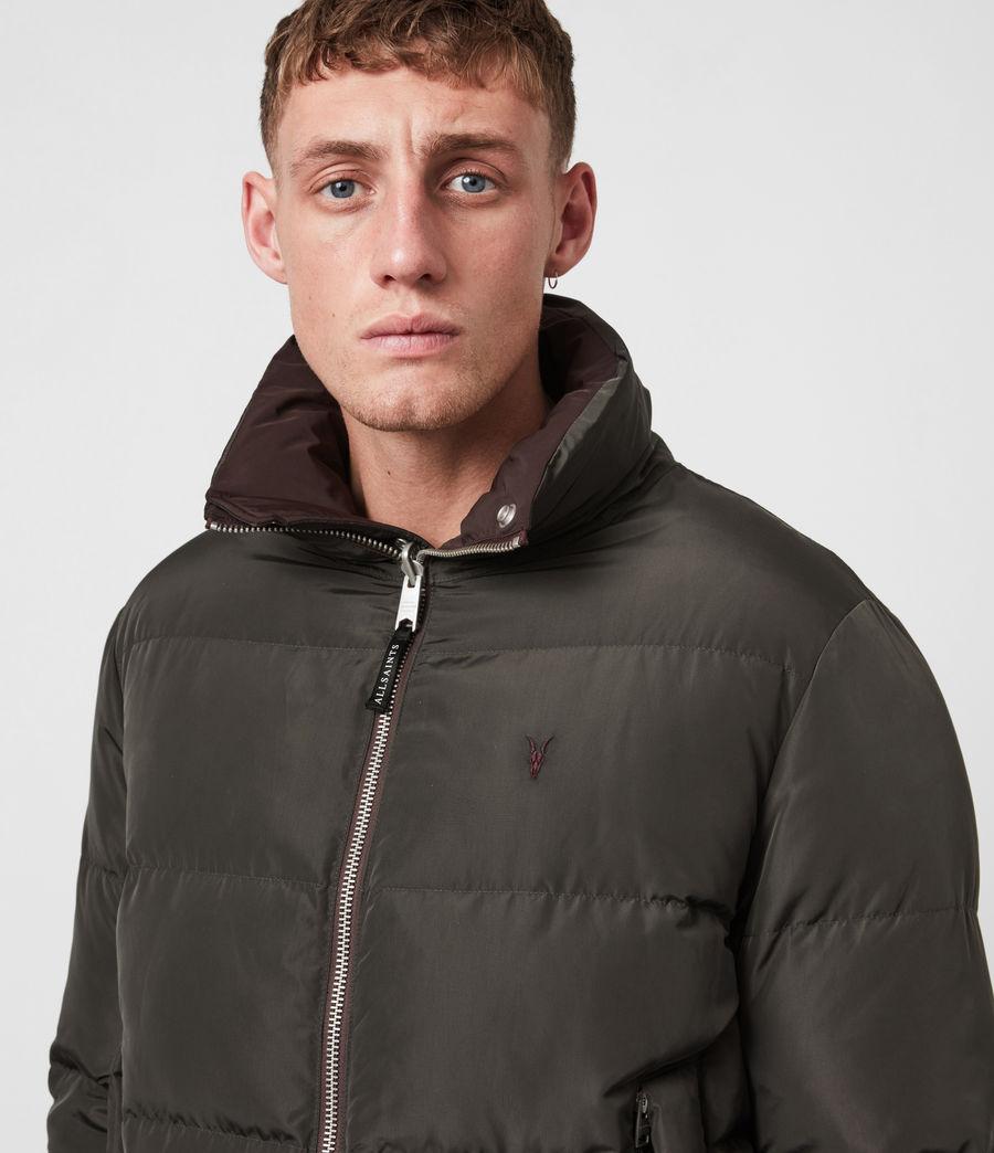 Herren Novern Reversible Ramskull Puffer Jacket (oxblood_grey) - Image 6