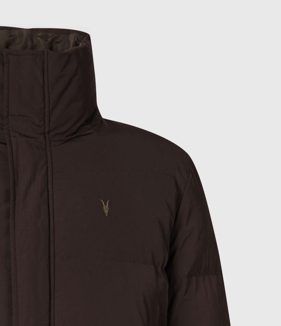 Mens Novern Reversible Ramskull Puffer Jacket (oxblood_graphite) - Image 7