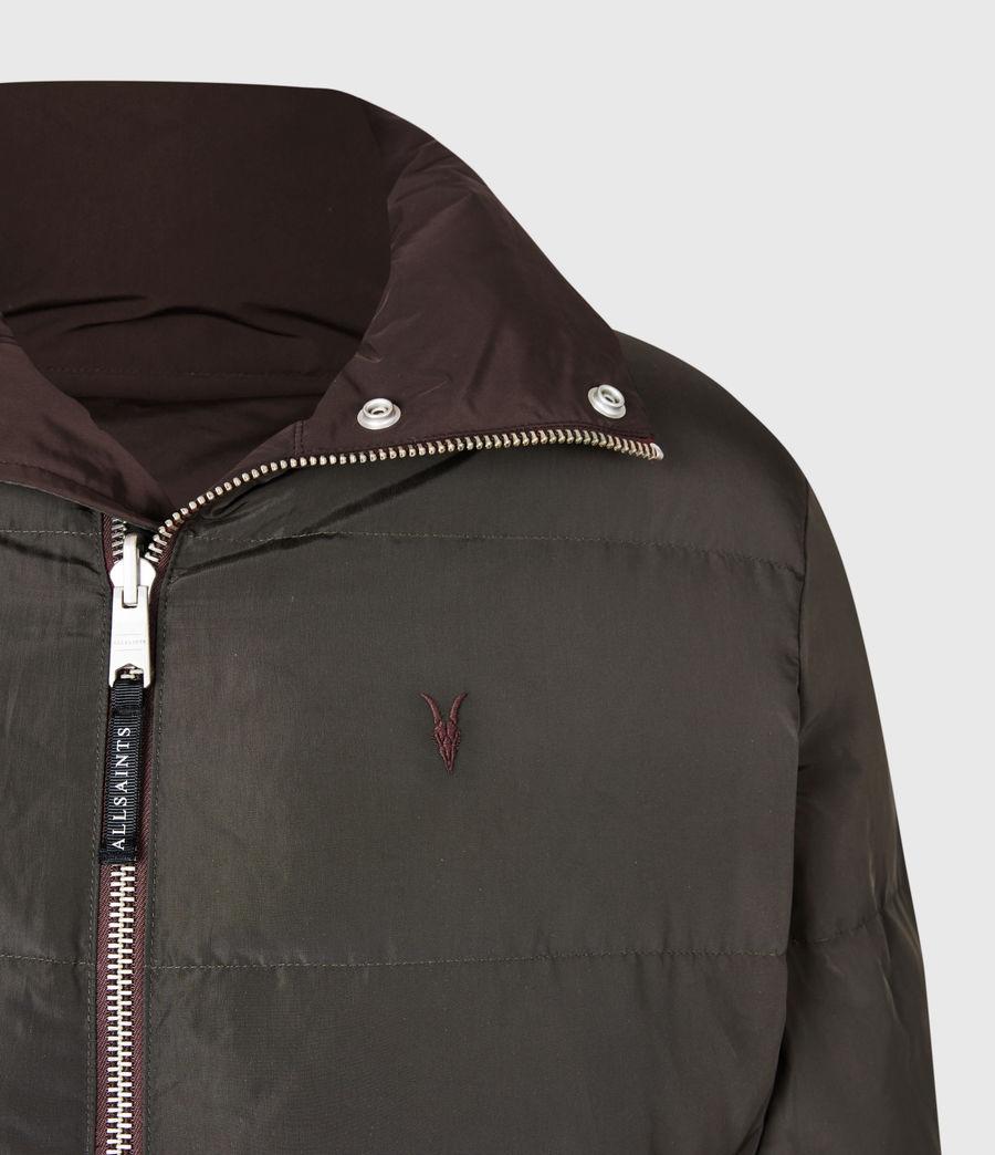 Mens Novern Reversible Ramskull Puffer Jacket (oxblood_graphite) - Image 8