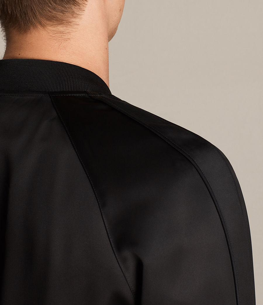 Men's Yuki Bomber Jacket (black) - Image 5