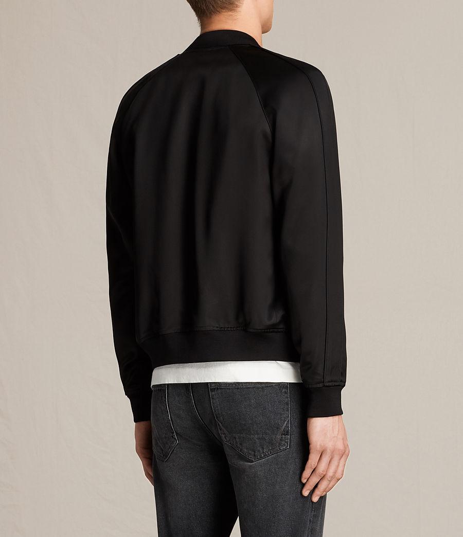 Men's Yuki Bomber Jacket (black) - Image 6