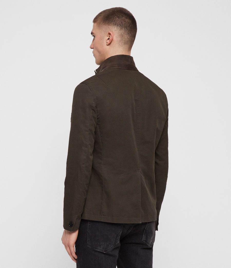 Men's Acklam Blazer (dark_khaki_green) - Image 8