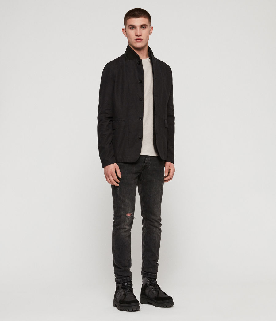 Men's Acklam Blazer (black) - Image 3