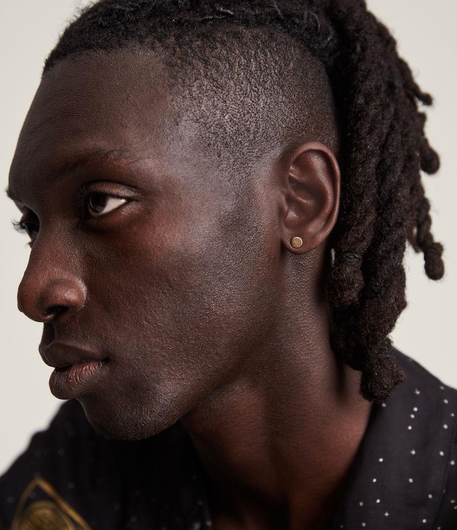 Men's Otis Earrings (warm_brass) - Image 2