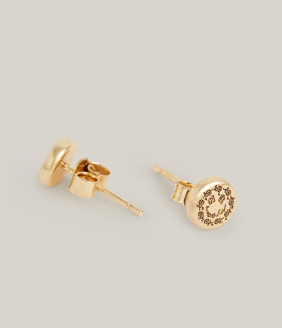 Men's Otis Earrings (warm_brass) - Image 4