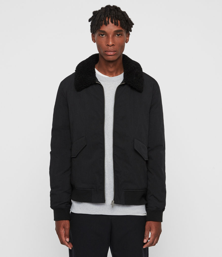Mens Conway Jacket (black) - Image 1
