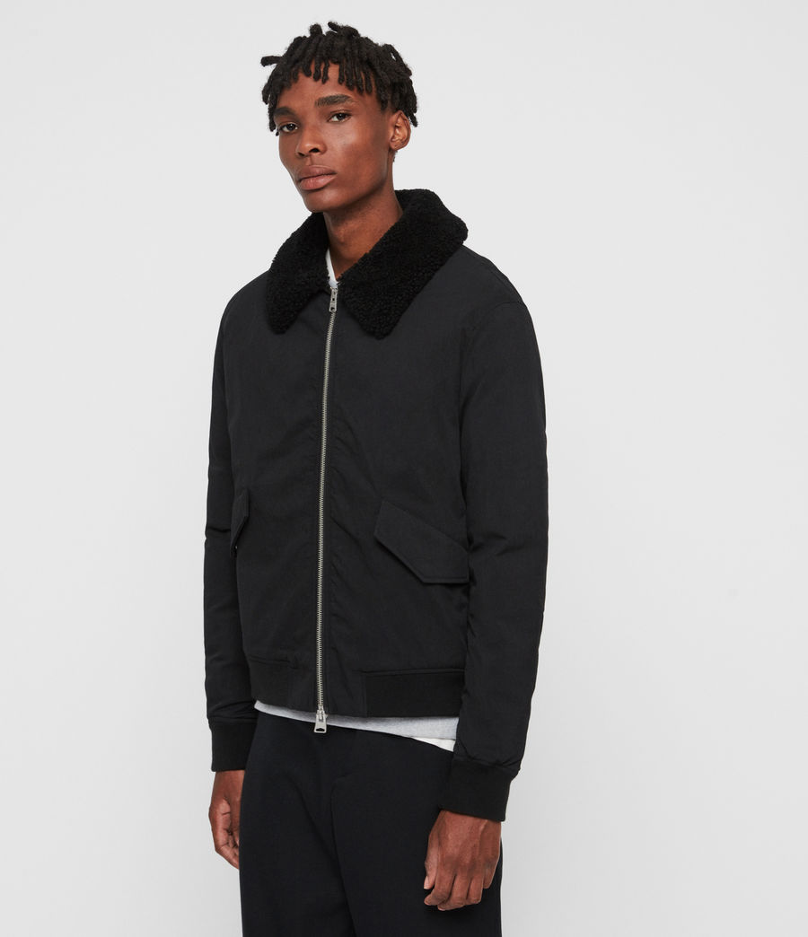 Mens Conway Jacket (black) - Image 4