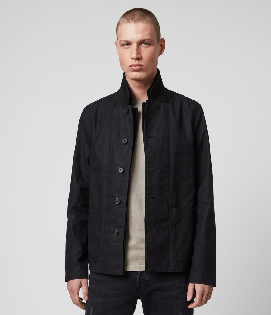 Men's Union Blazer (washed_black) - Image 1