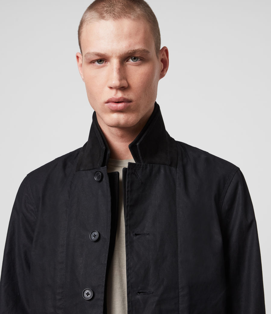 Mens Union Blazer (washed_black) - Image 2