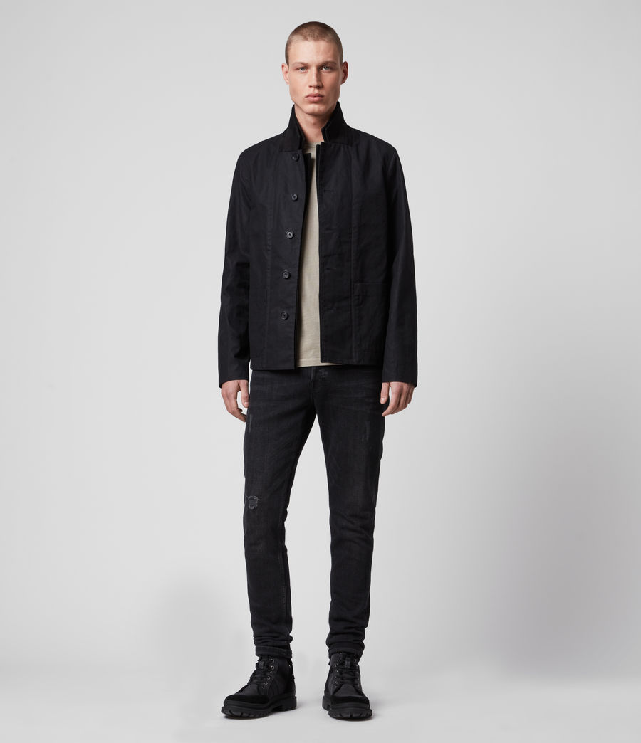 Men's Union Blazer (washed_black) - Image 3