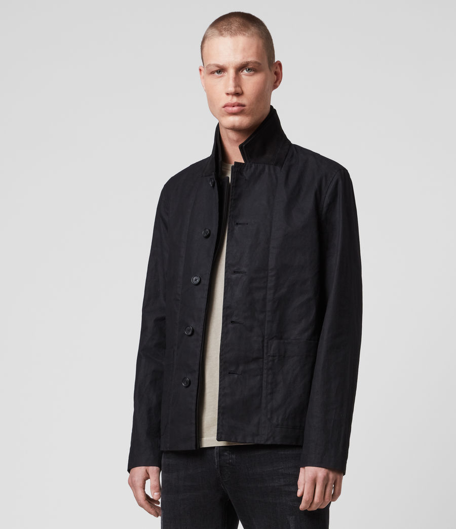 Men's Union Blazer (washed_black) - Image 4