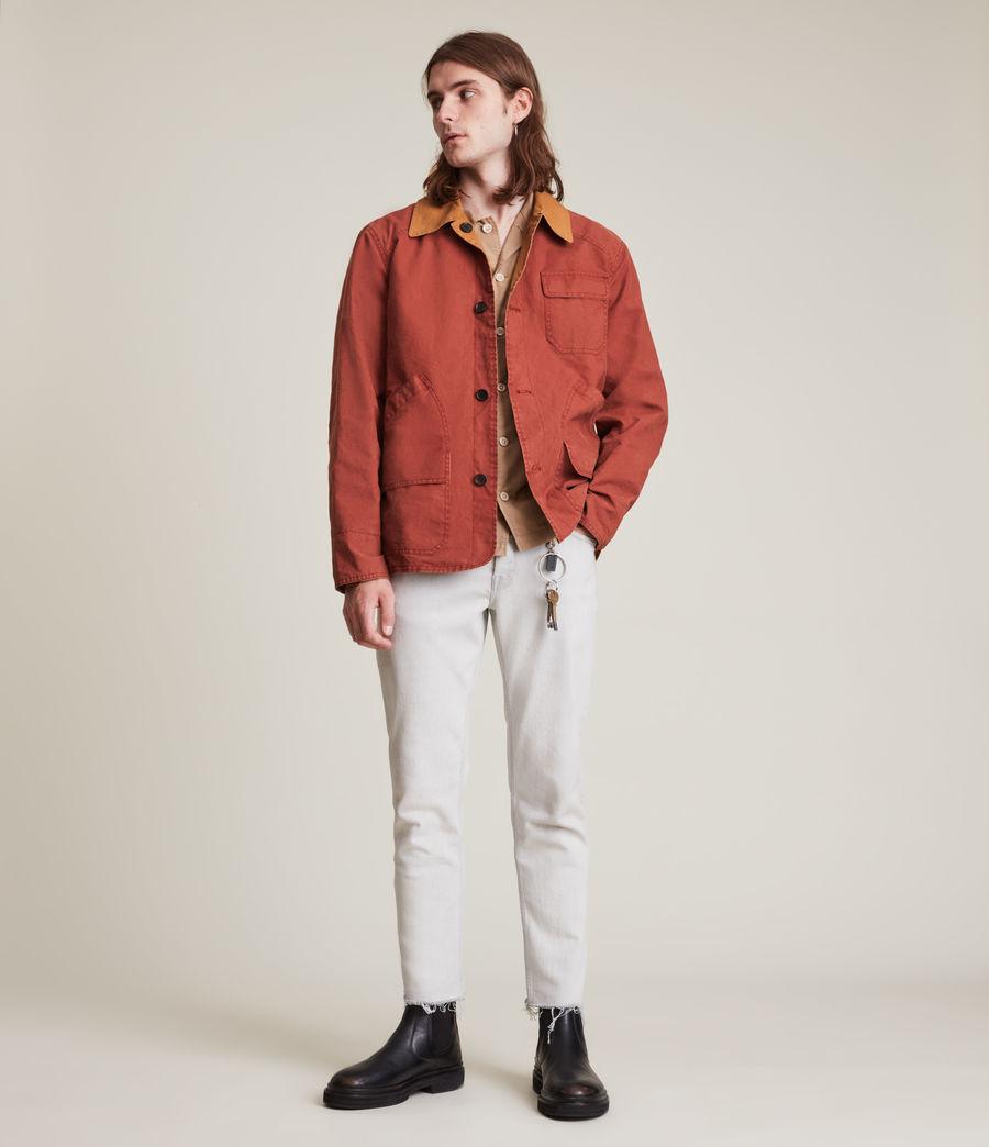 Herren Mike Reversible Jacket (red_tobacco) - Image 2