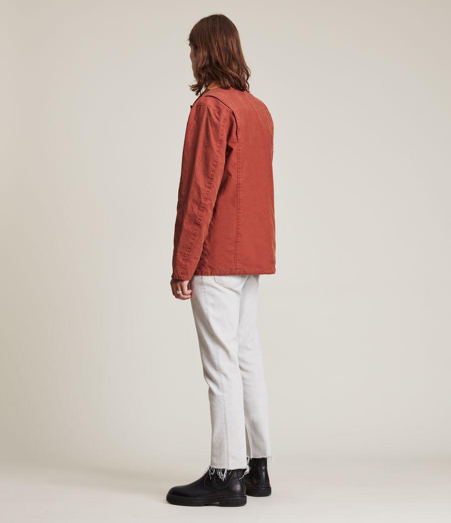 Herren Mike Reversible Jacket (red_tobacco) - Image 5