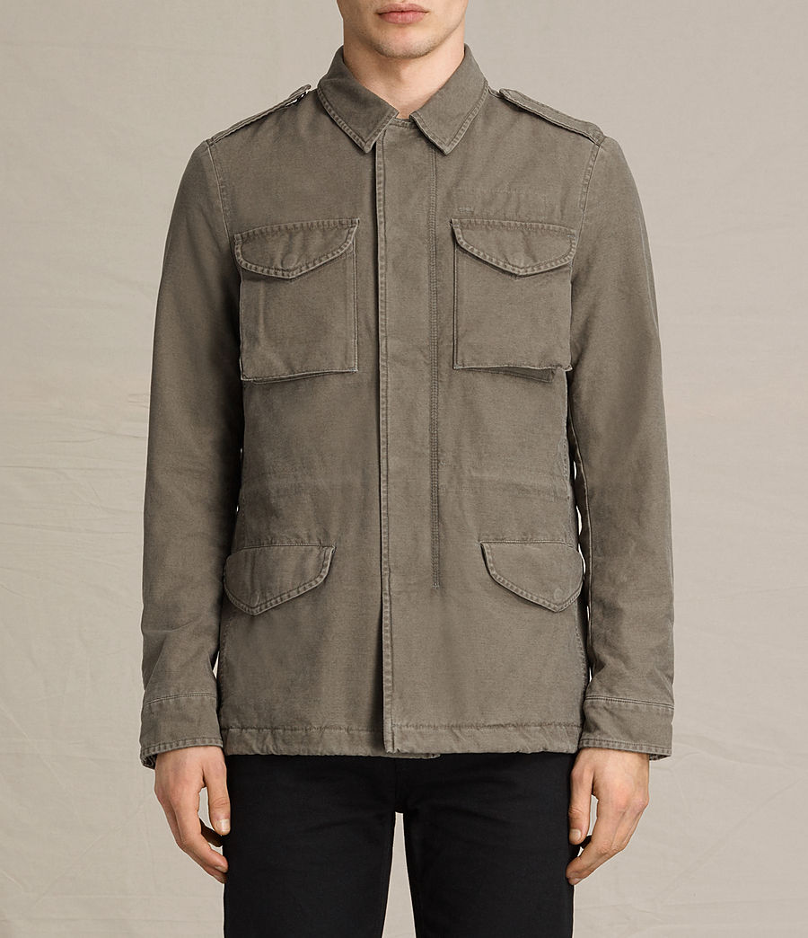 Men's Pearce Jacket (khaki_green) - Image 2
