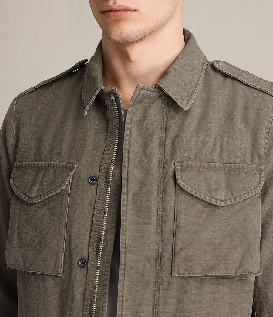 Men's Pearce Jacket (khaki_green) - Image 4