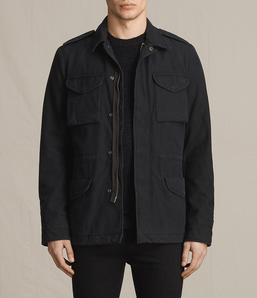 Men's Pearce Jacket (black) - Image 1