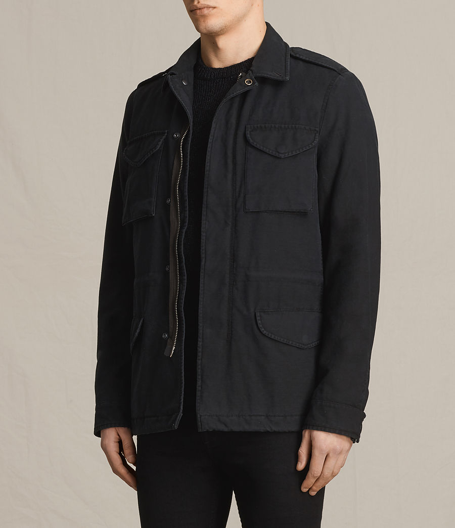 Men's Pearce Jacket (black) - Image 3