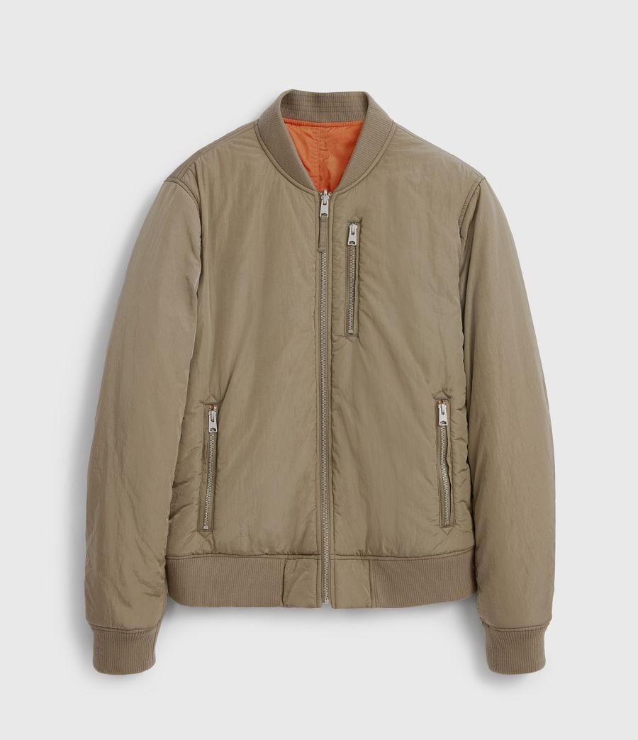 Men's Erskine Reversible Bomber Jacket (beech_green_orange) - Image 6