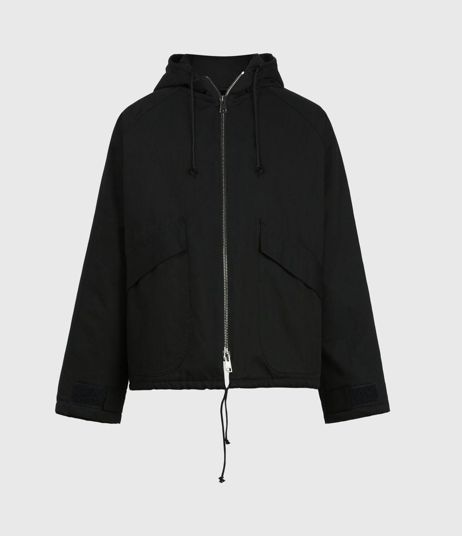 Men's Jace Parka Coat (black) - Image 2