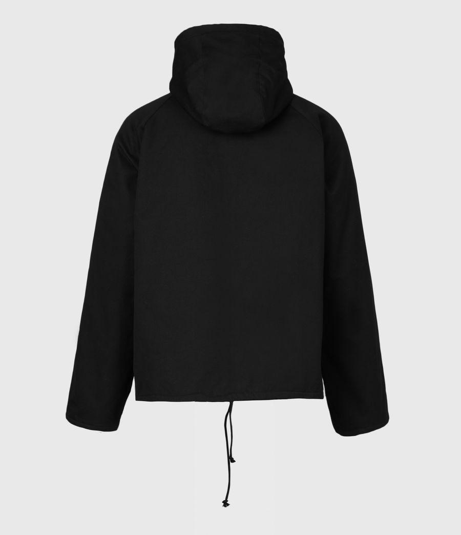 Men's Jace Parka Coat (black) - Image 3