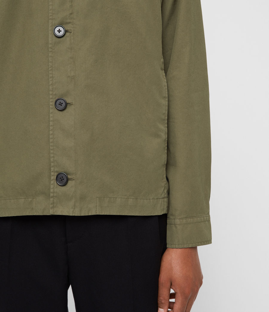 Mens Ruston Jacket (dusty_khaki_green) - Image 4