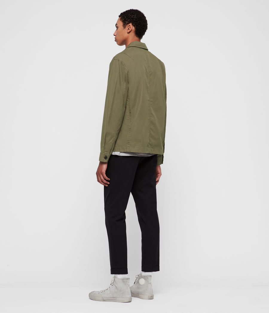 Mens Ruston Jacket (dusty_khaki_green) - Image 6