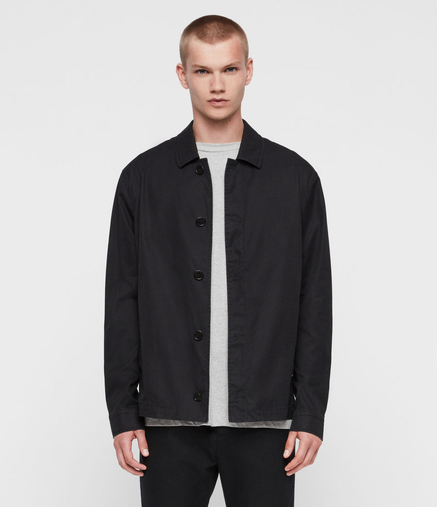 Mens Ruston Jacket (black) - Image 1