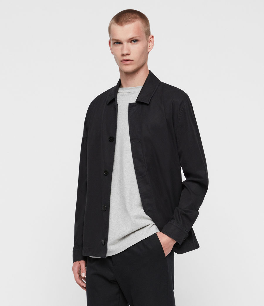 Mens Ruston Jacket (black) - Image 2