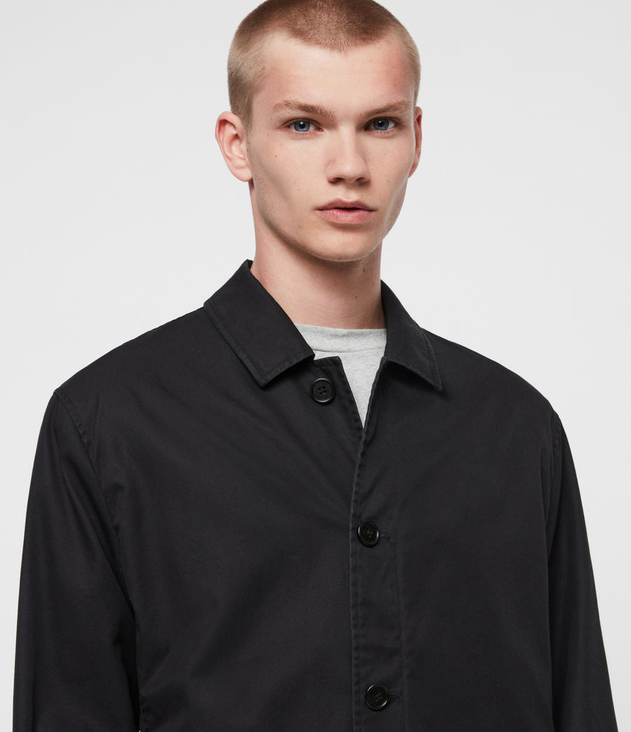 Mens Ruston Jacket (black) - Image 3