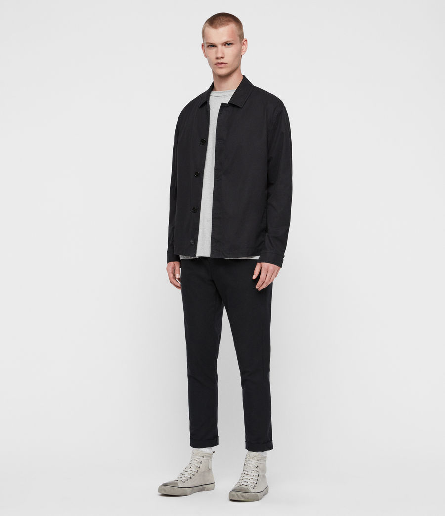 Mens Ruston Jacket (black) - Image 4