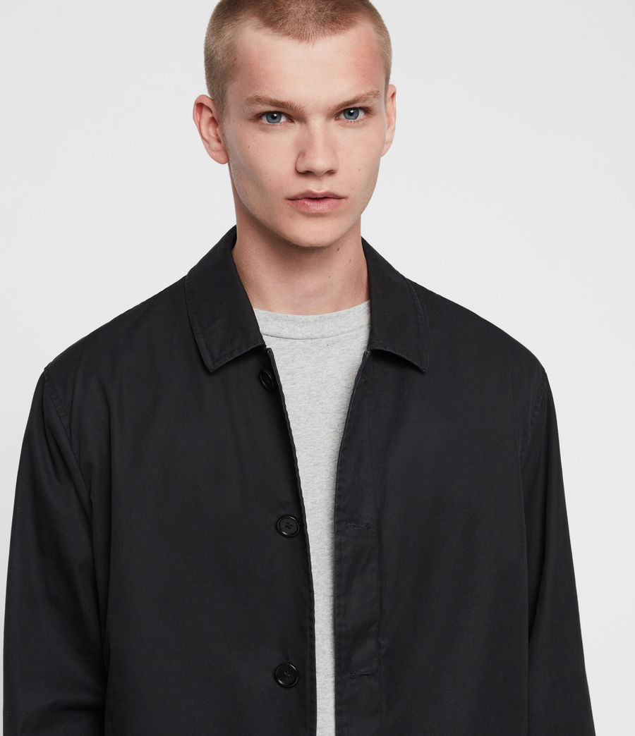 Mens Ruston Jacket (black) - Image 5
