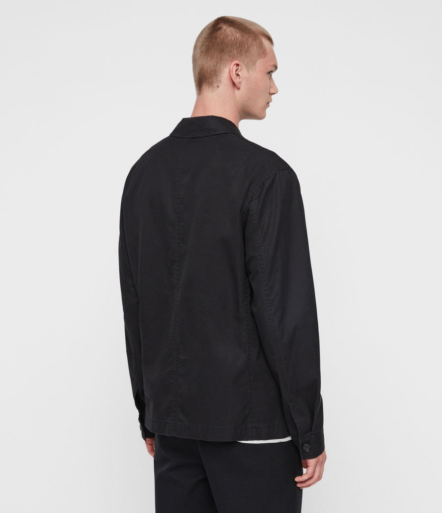 Mens Ruston Jacket (black) - Image 6