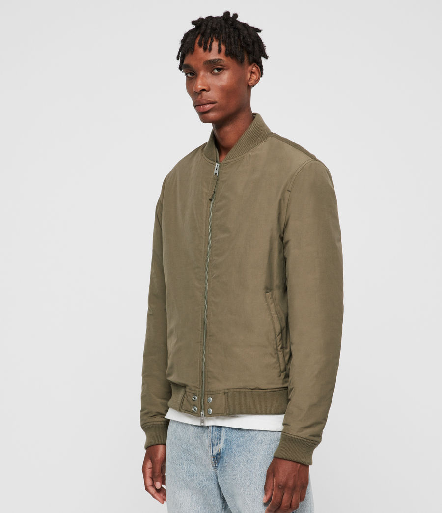 Men's Farrier Bomber Jacket (field_beech_green) - Image 4