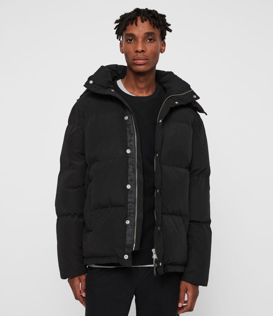Men's Edbury Puffer Jacket (black) - Image 1