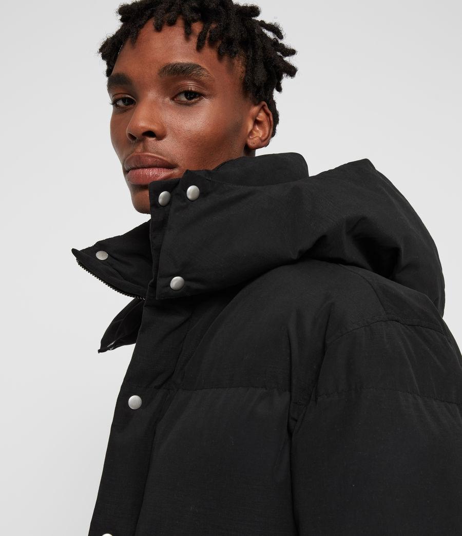 Men's Edbury Puffer Jacket (black) - Image 2