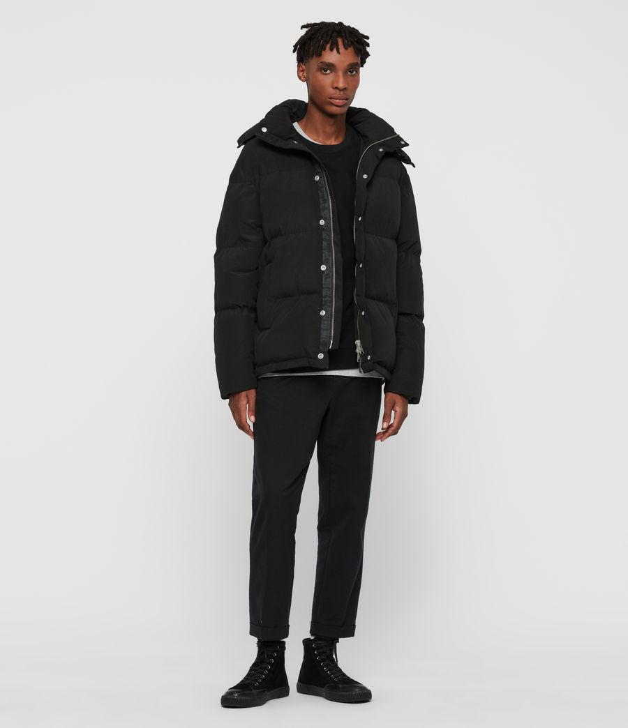 Men's Edbury Puffer Jacket (black) - Image 3