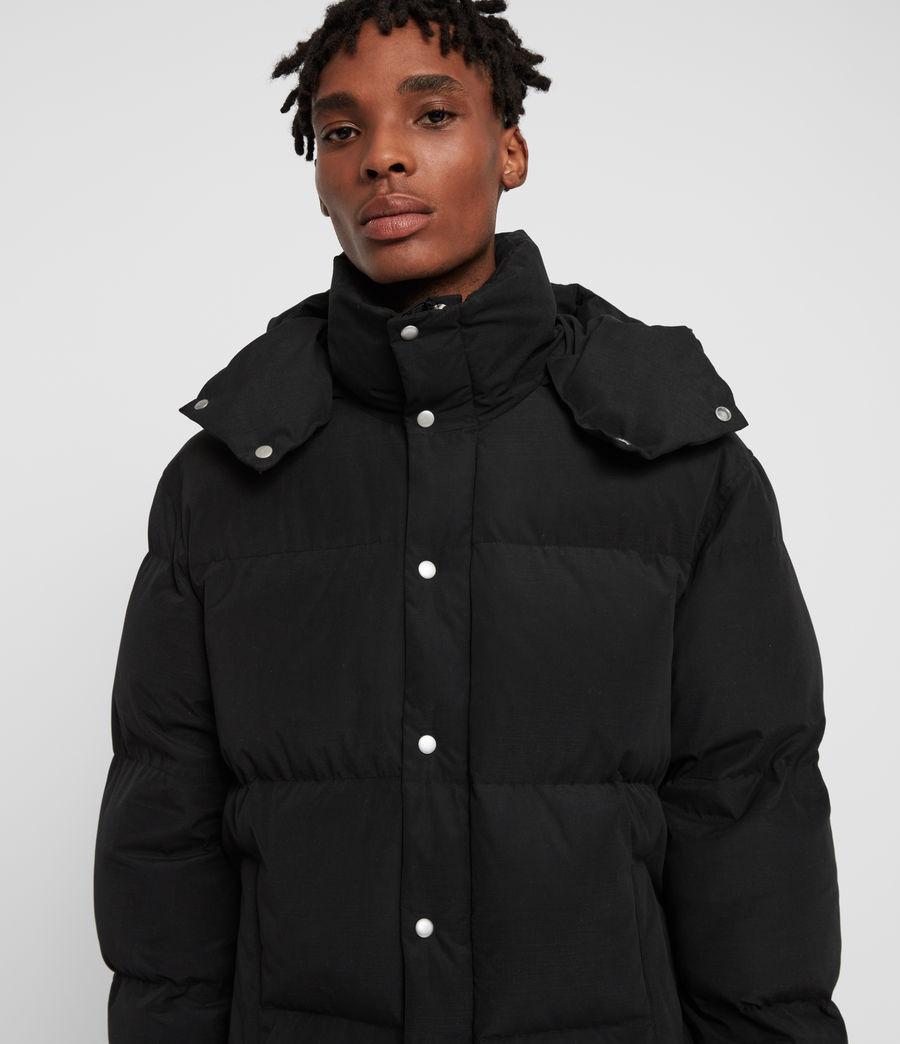 Men's Edbury Puffer Jacket (black) - Image 4